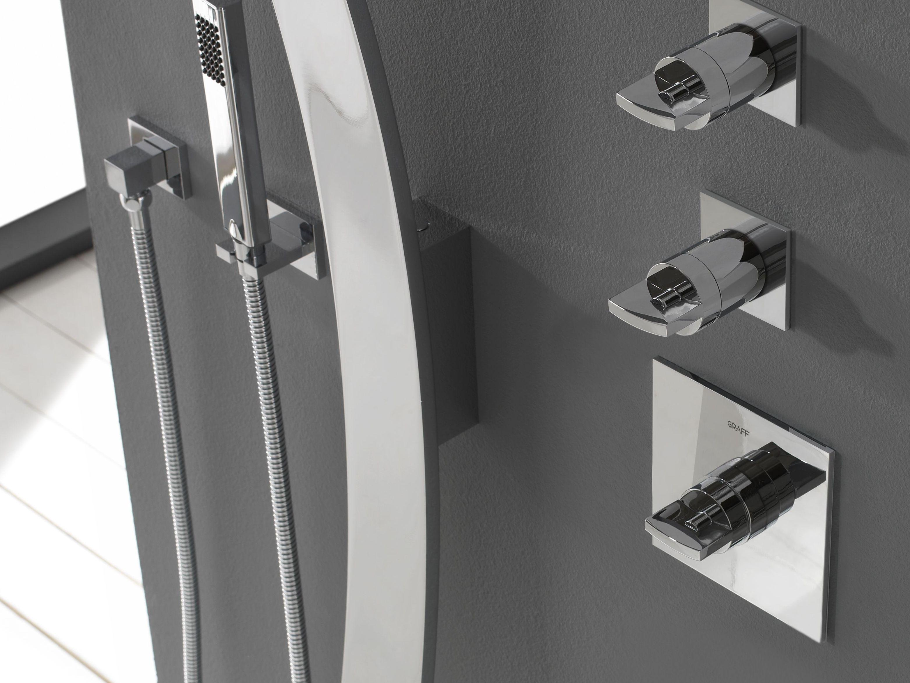 Luna miscelatore termostatico per doccia by graff europe west - Miscelatori bagno prezzi ...