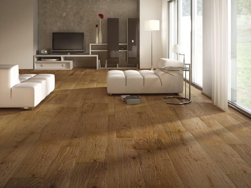 Wooden parquet rovere antico by ideal legno - Parquet su piastrelle ...