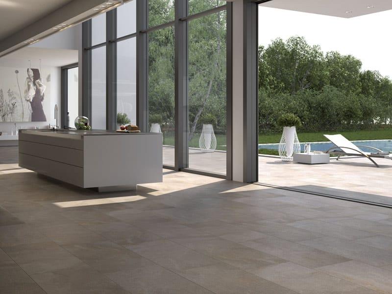 Pavimento rivestimento in gres porcellanato vetrificato - Piastrelle casalgrande padana ...
