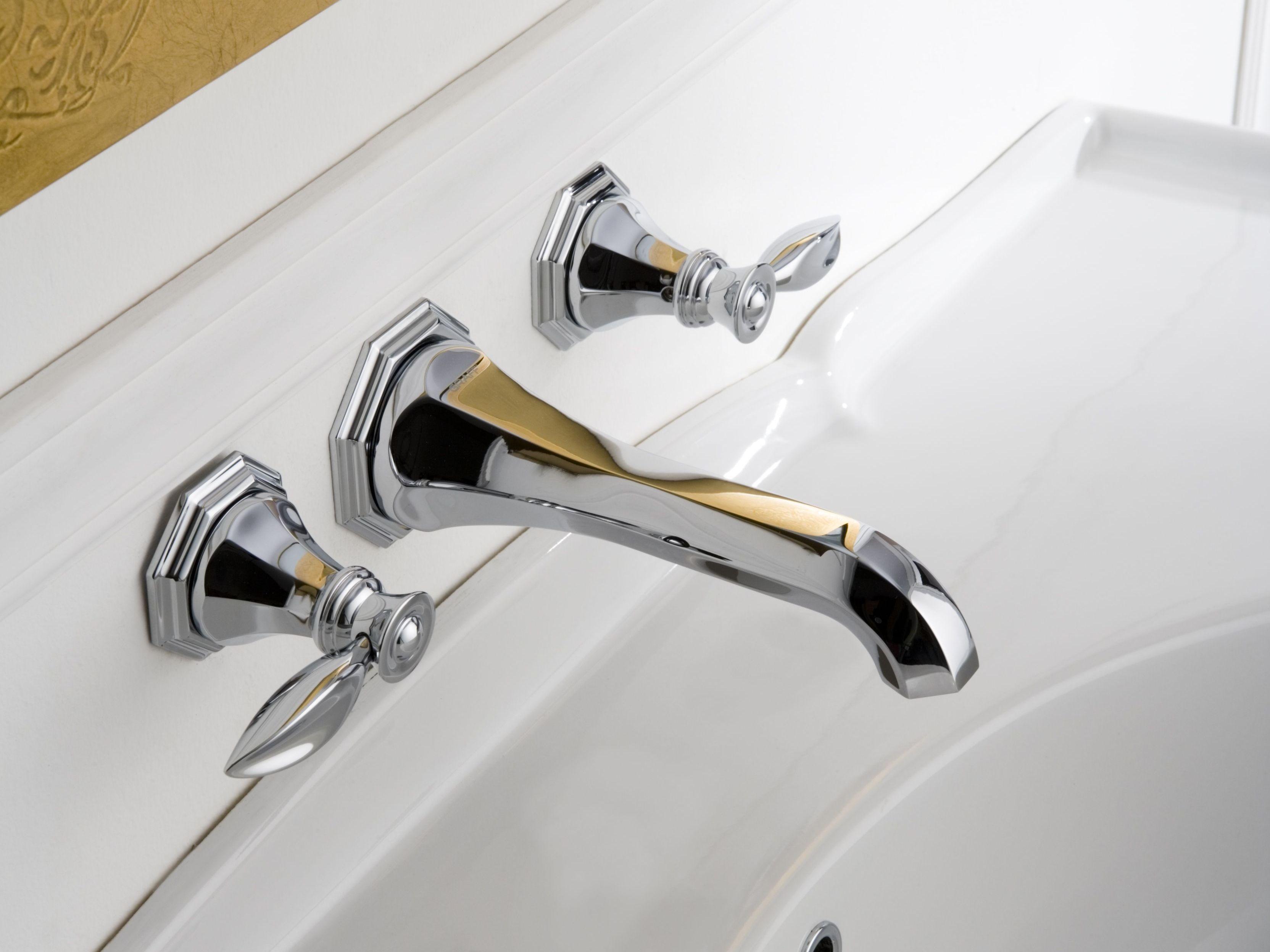 topaz robinet pour lavabo mural by graff europe west. Black Bedroom Furniture Sets. Home Design Ideas