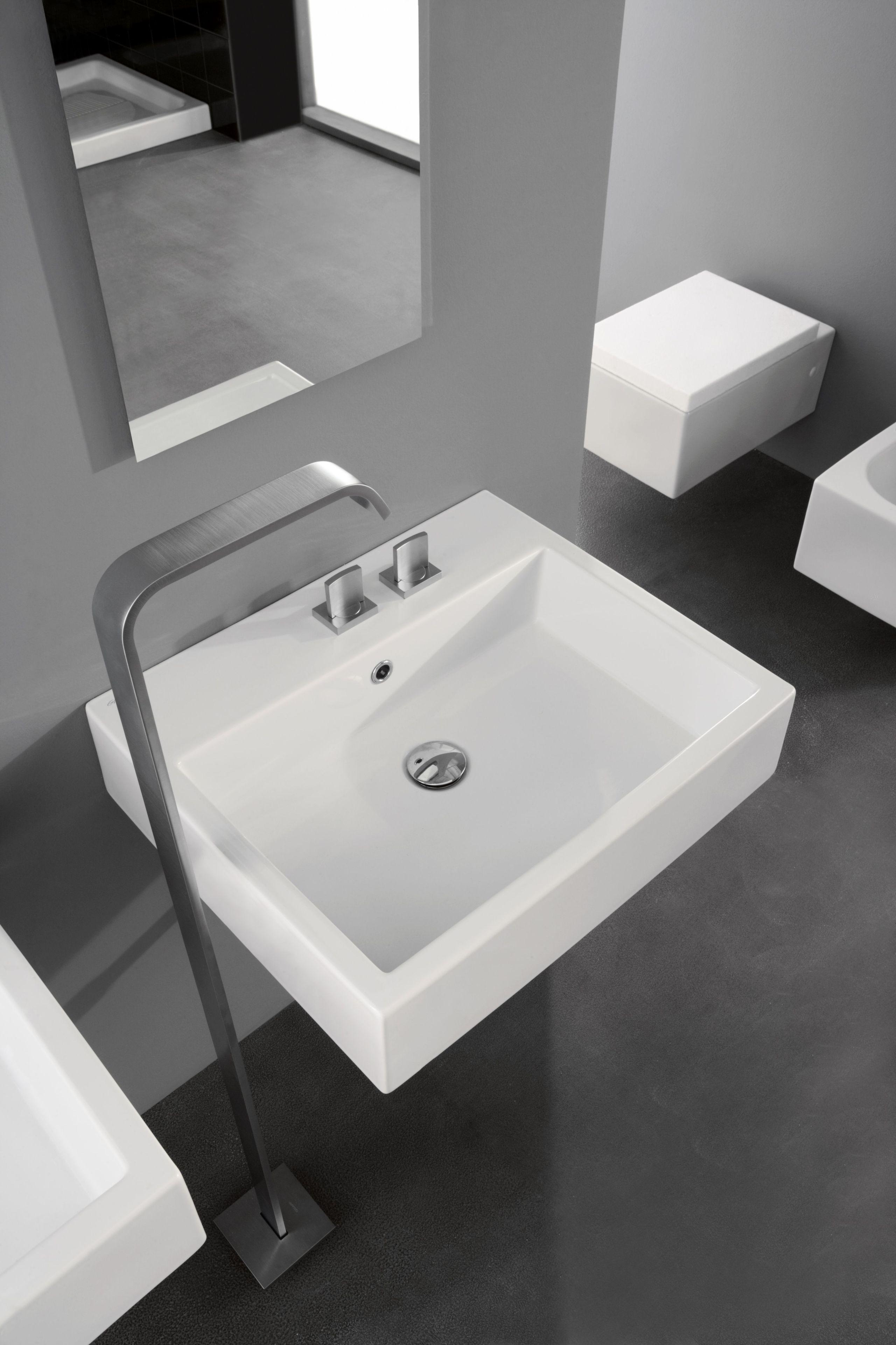 Grifo para lavabo para fijaci n al suelo colecci n targa - Grifos para lavabos ...