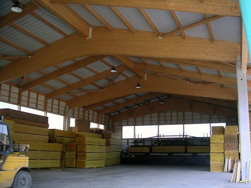 Copertura In Legno Lamellare Prezzi : Coperture in legno lamellare per capannoni u tetto della casa