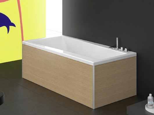Urban b vasca da bagno by glass 1989 design phoenix design - Pannelli vasca da bagno ...