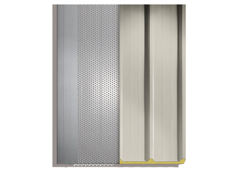 Insulated Metal Panel For Roof Isofire Roof Fono 1000 By