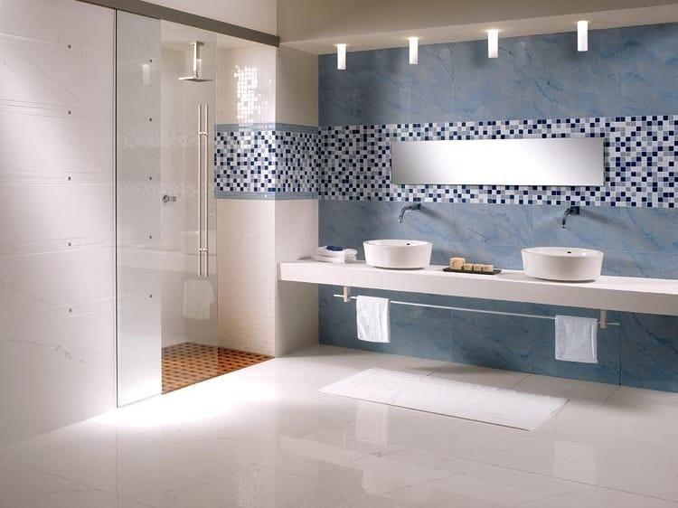 Pavimento/rivestimento in gres porcellanato effetto marmo ...