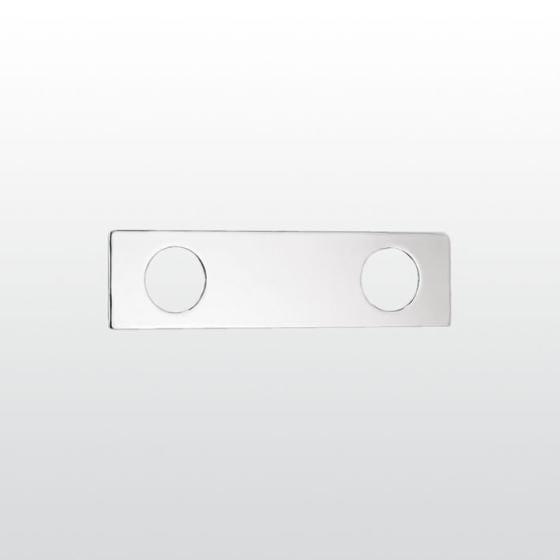robinet pour douche 2 trous avec plaque collection aster by rubinetterie stella design carlo santi. Black Bedroom Furniture Sets. Home Design Ideas