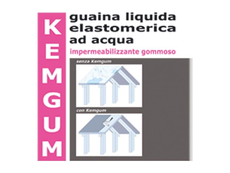 Guaina liquida impermeabilizzante kemgum calpestabile by for Guaina liquida mapei calpestabile