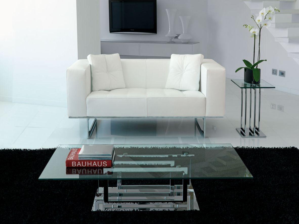 Tavolino in vetro in stile moderno da salotto EXCELSIOR by ITALY DREAM ...