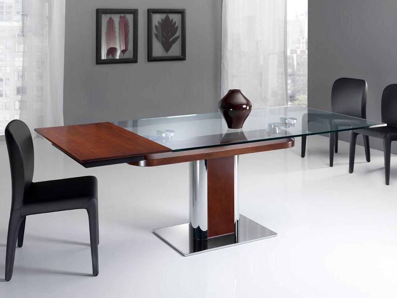 Tavolo allungabile rettangolare space by italy dream design for Tavolo rettangolare design