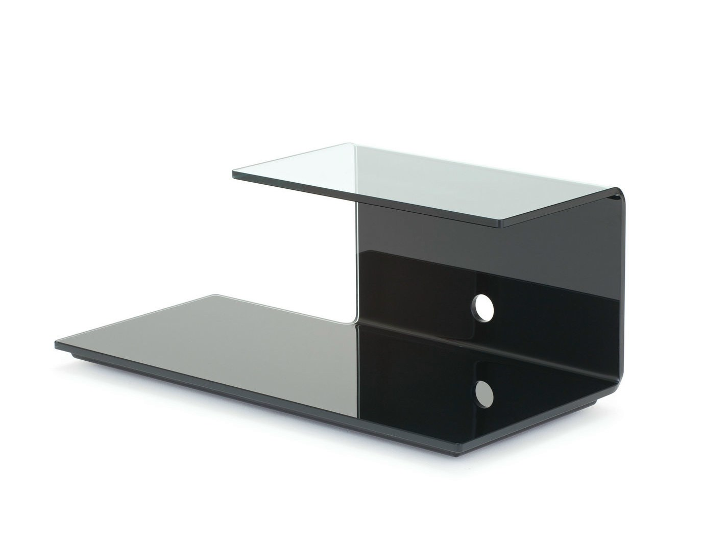 Mobile TV in cristallo TOBY by SOVET ITALIA design Lievore Altherr ...