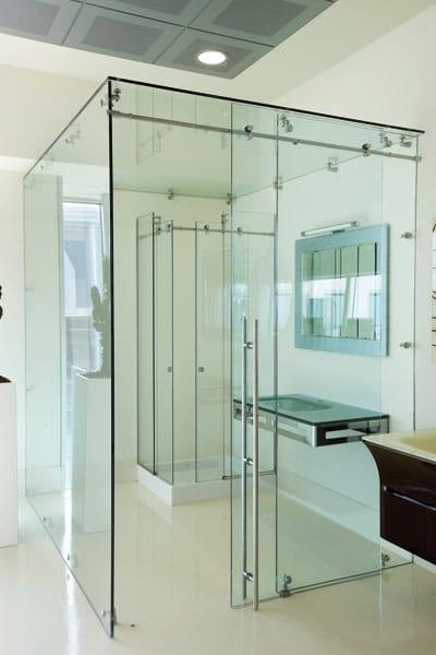 nach mass duschkabine by vetraria pescini. Black Bedroom Furniture Sets. Home Design Ideas
