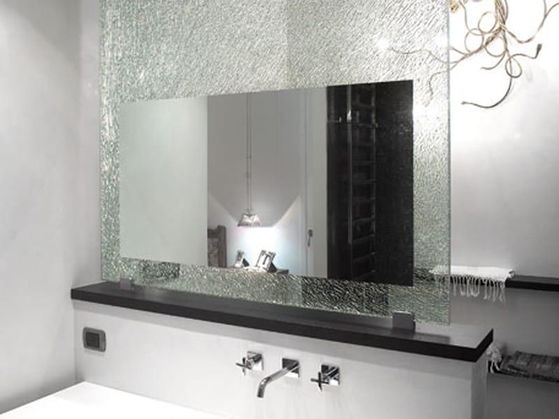 Glass project specchio bagno by vetraria pescini for Specchio bagno 3d