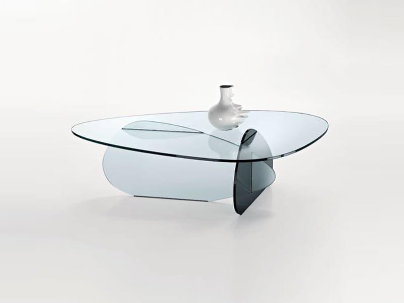 Tavolino in vetro da salotto GLASS PROJECT  Tavolino - Vetraria ...