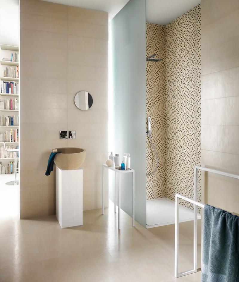 Pavimento in gres porcellanato effetto resina concept by ceramica ...