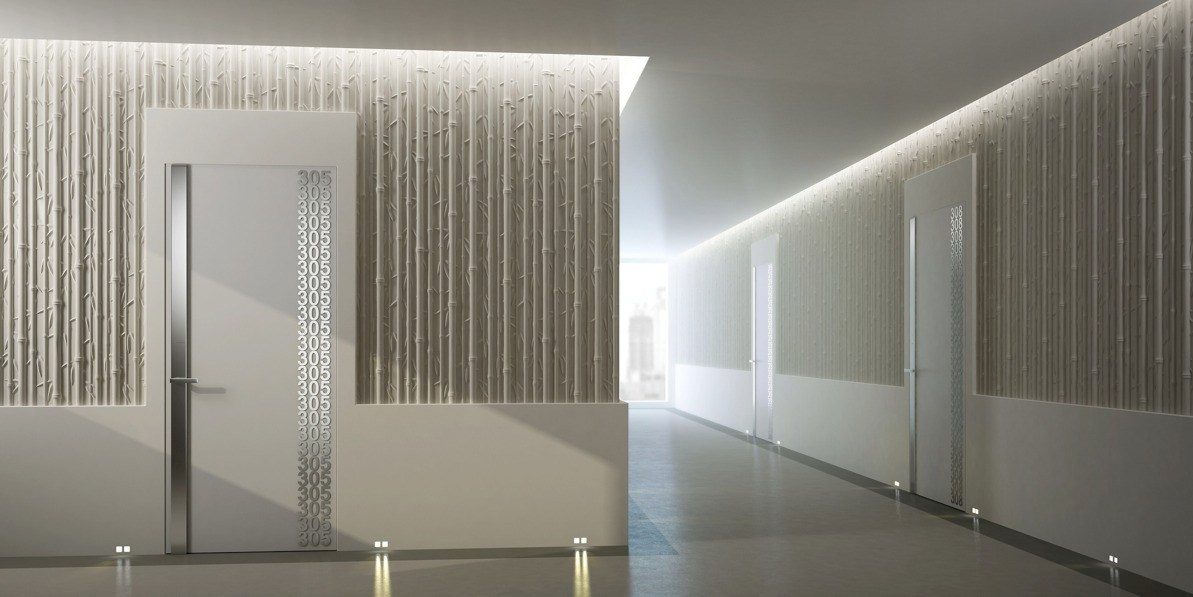 3d wall panel bamboo by 3d surface design jacopo cecchi for 3d wall decoration panel