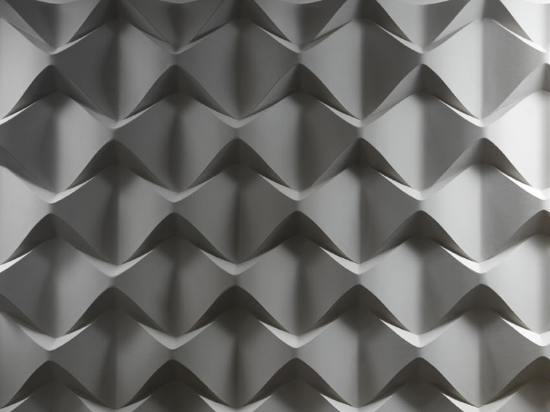 3d Wall Surfaces : D wall panel caos by surface design jacopo cecchi