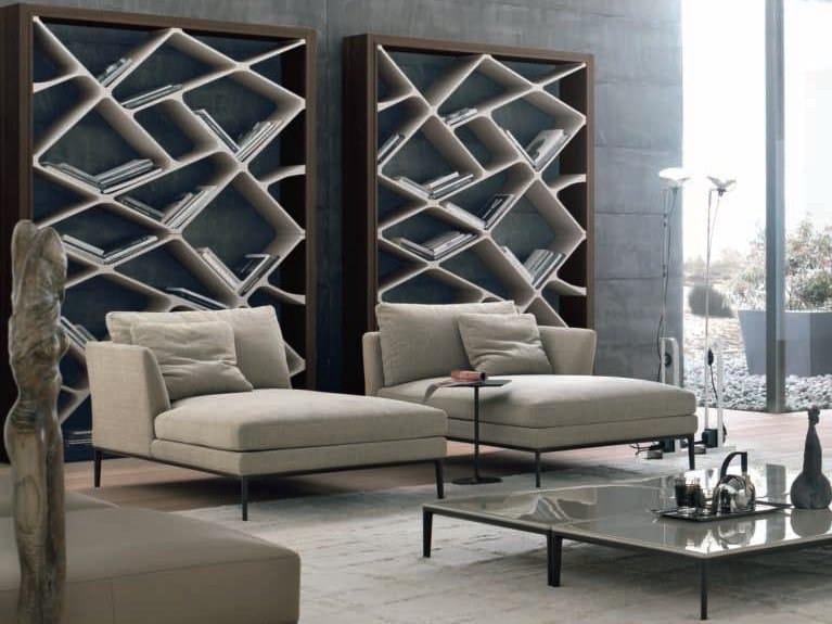 dormeuse imbottita in pelle portofino by alivar design. Black Bedroom Furniture Sets. Home Design Ideas