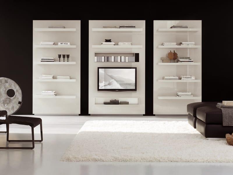 M dulo de arruma o de parede com suporte para tv off - Modulo para tv ...