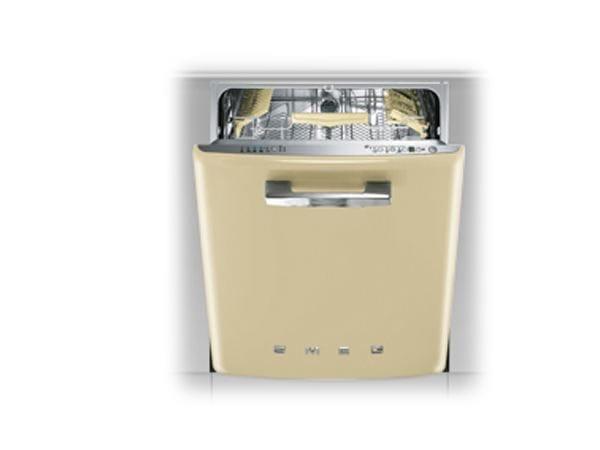 lave vaisselle encastrable st2fabp2 collection smeg 50 39 s style by smeg. Black Bedroom Furniture Sets. Home Design Ideas