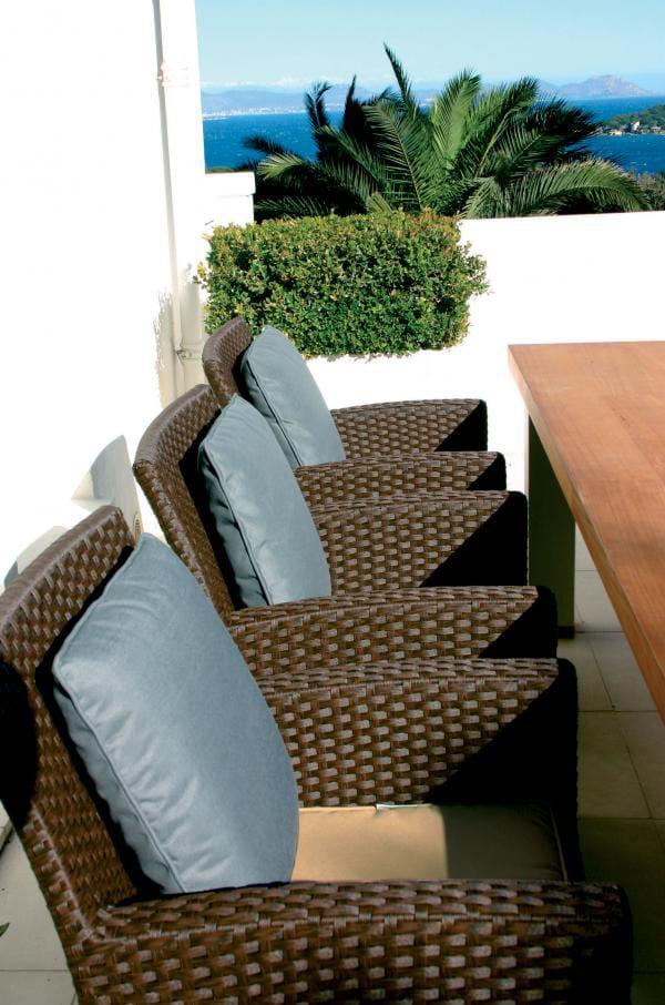 Sill n de jard n de fibras vegetales colecci n sunday by for Sofa arcon jardin