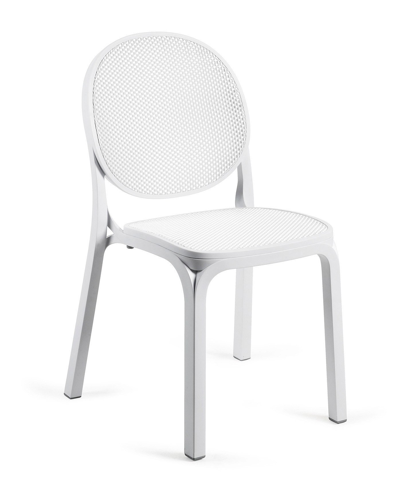 Chaise de jardin empilable fresia by nardi design for Chaises empilables