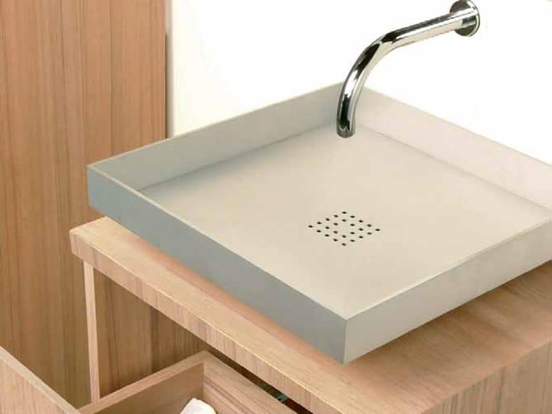 Lavabeau lavabo sobre encimera by royal botania for Lavabos cuadrados sobre encimera