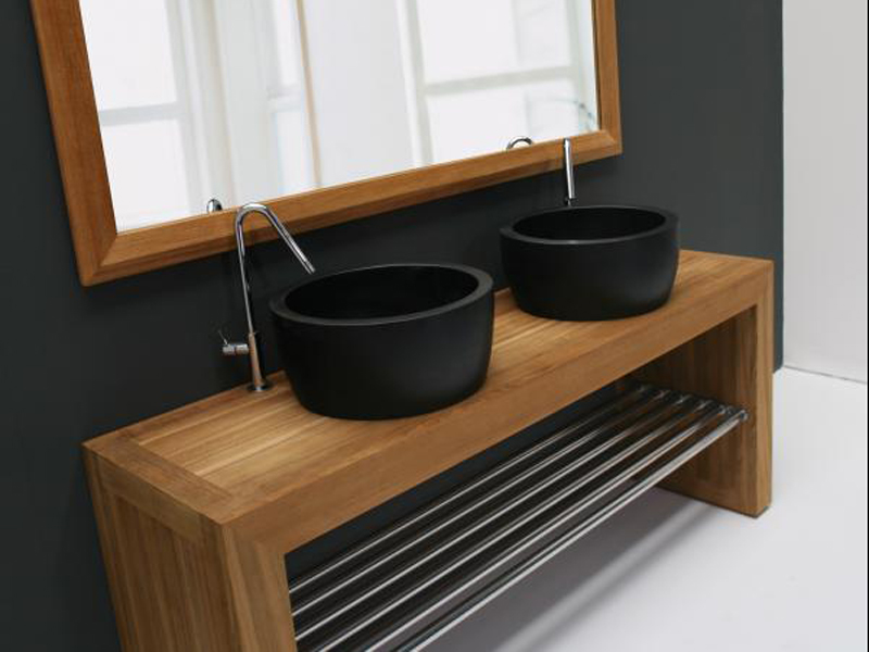 contemptation console de lavabo by royal botania. Black Bedroom Furniture Sets. Home Design Ideas
