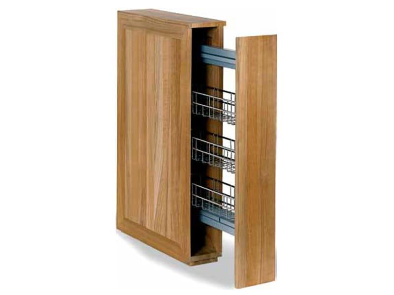 Meuble pour salle de bain en bois avec rangement for Meuble columbus