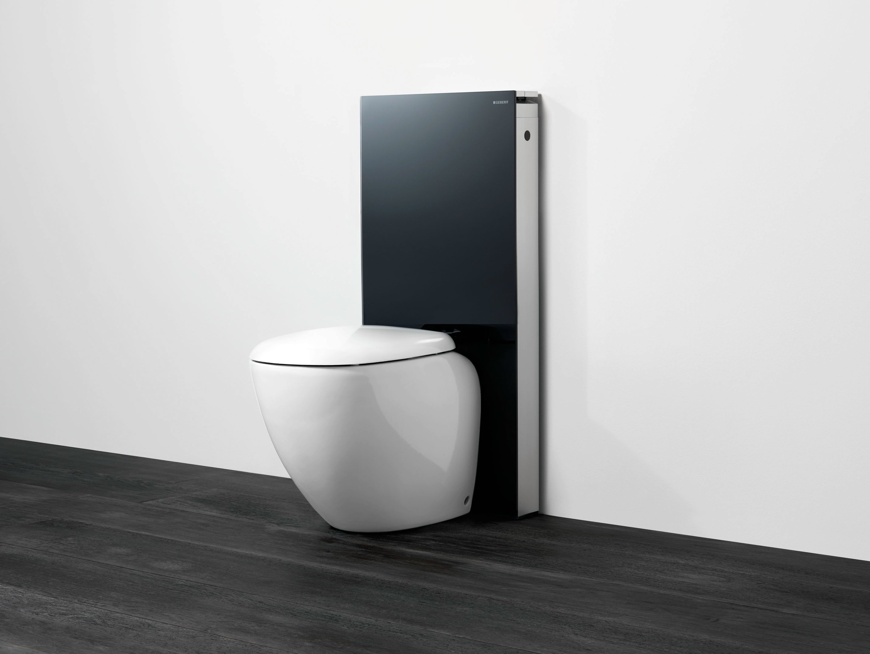 tempered glass sanitary module for toilets monolith by. Black Bedroom Furniture Sets. Home Design Ideas