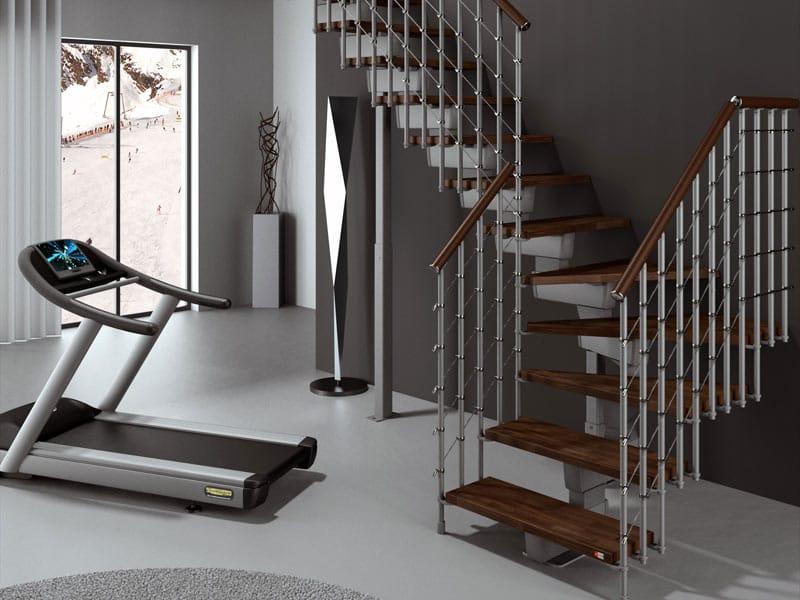Escalier ouvert modulaire en kit tech ce by rintal - Rintal scale forli ...