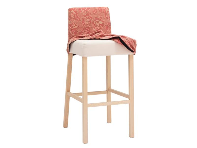 Chaise de bar avec repose pieds calais by ton design tom kelley - Chaise avec repose pied ...