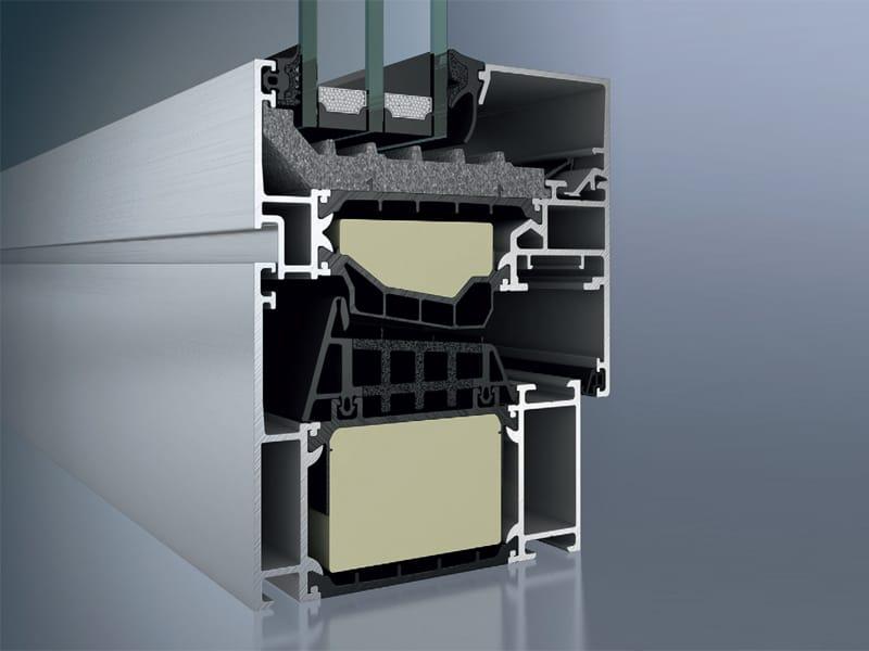 Aluminium thermal break window sch co aws 90 si by sch co for Schuco aws 75 bs hi