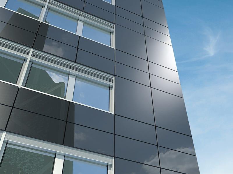 Sistema per facciata continua sch co erc 50 by sch co - Finestre con pannelli solari ...