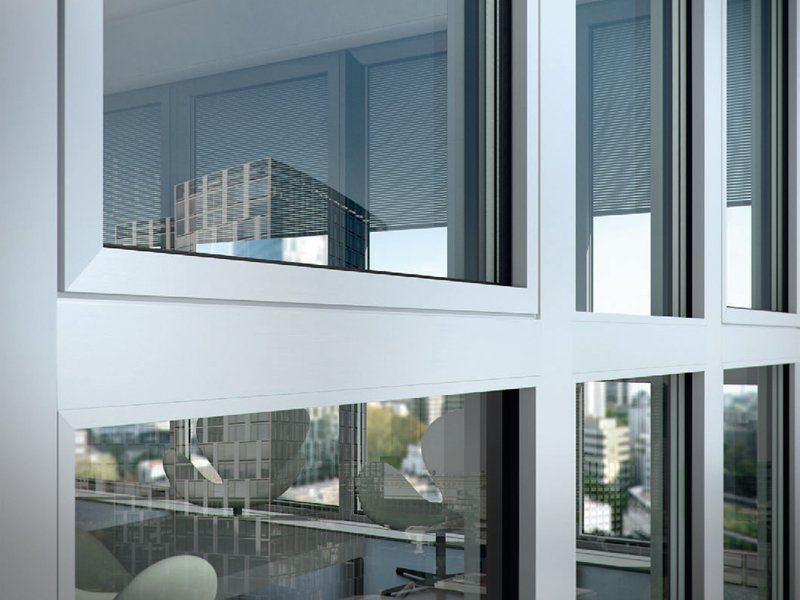 ventana de aluminio con corte t rmico sch co aws 112 ic by sch co international italia. Black Bedroom Furniture Sets. Home Design Ideas