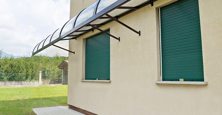 Marquesina de aluminio elena by ke outdoor design - Marquesinas para puertas ...