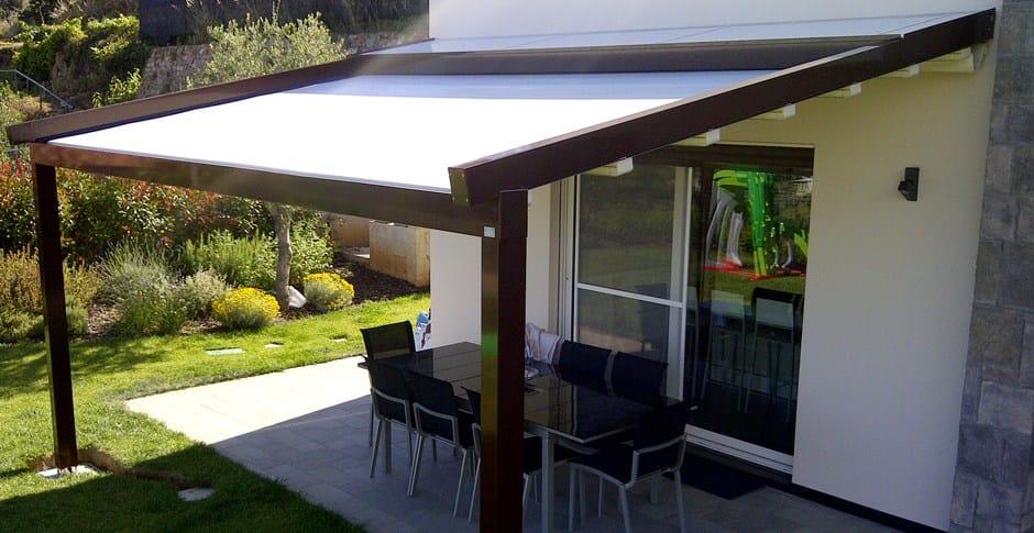 Terrassen Berdachung Aus Aluminium Mit Faltdach A2 Compact