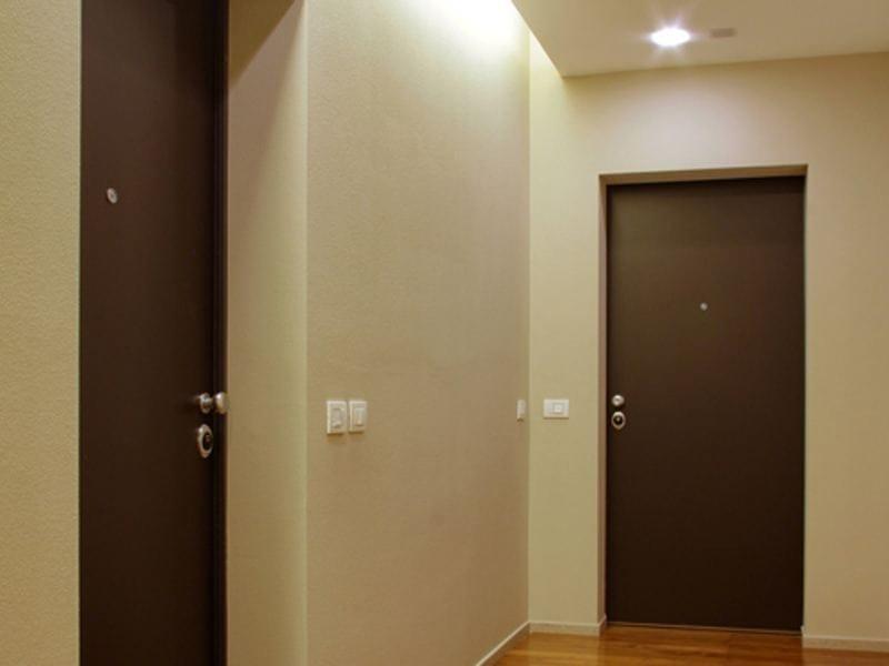 Porta d 39 ingresso blindata chrome by torterolo re - Porta ingresso blindata ...