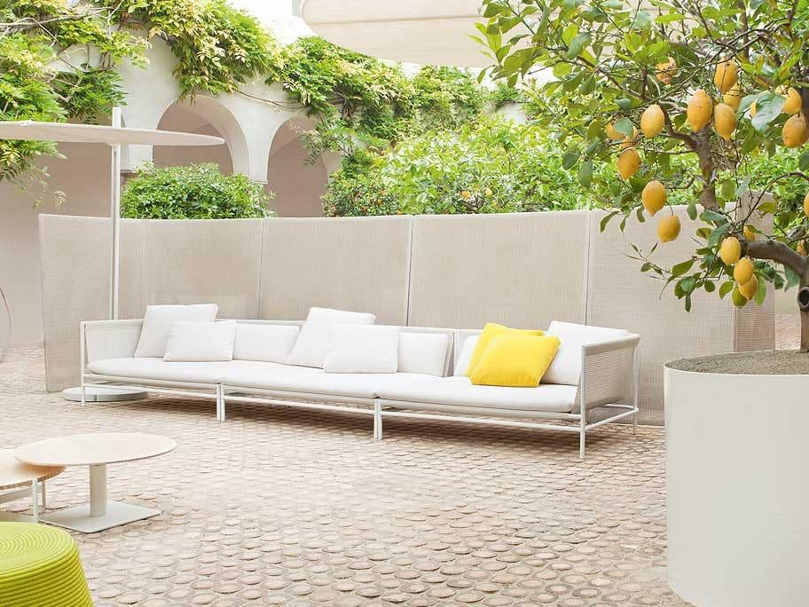 Canvas divano da giardino by paola lenti design francesco rota - Divano giardino ...