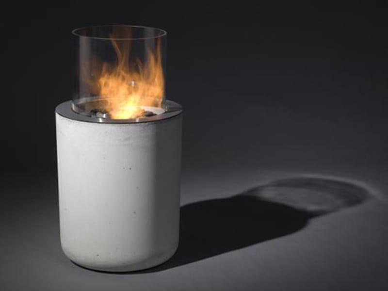 Chimenea exterior de pie de bioetanol JAR COMMERCE by Planika ...