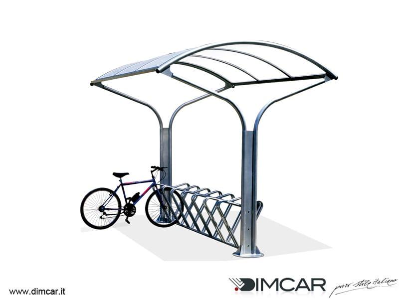 f r fahrr der und roller berdachung ciclo park by dimcar. Black Bedroom Furniture Sets. Home Design Ideas