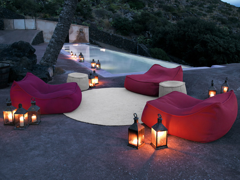 Float Garden Armchair By Paola Lenti Design Francesco Rota