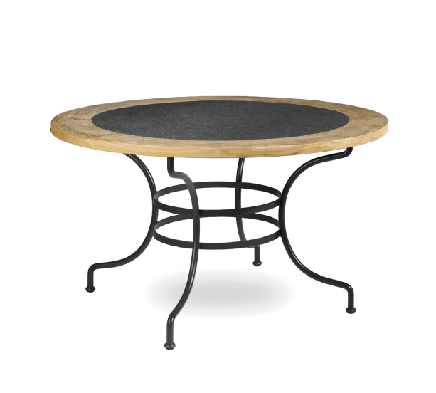 Table de jardin ronde en fer gifi des for Table de jardin ronde en fer