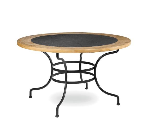 Table de jardin ronde en fer gifi des id es int ressantes pou - Table de jardin ronde en fer forge ...