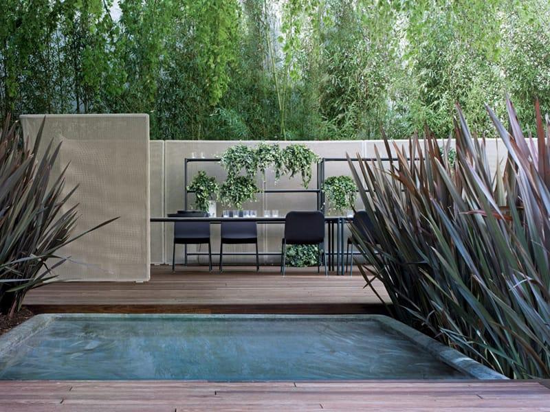 Schermo divisorio da giardino abri by paola lenti design for Divisori da giardino