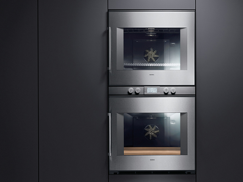doppel elektro backofen bx 280 281 serie 200 by gaggenau. Black Bedroom Furniture Sets. Home Design Ideas