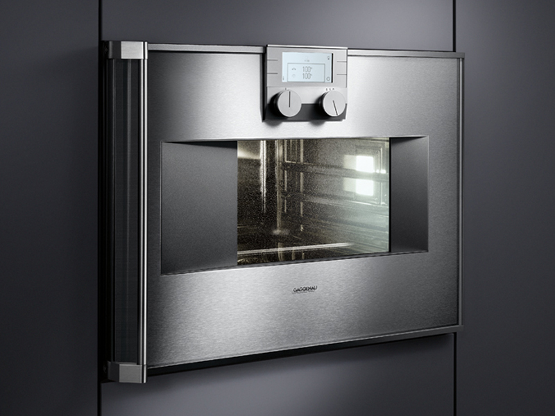 forno a vapore bs 274 275 serie 200 by gaggenau. Black Bedroom Furniture Sets. Home Design Ideas