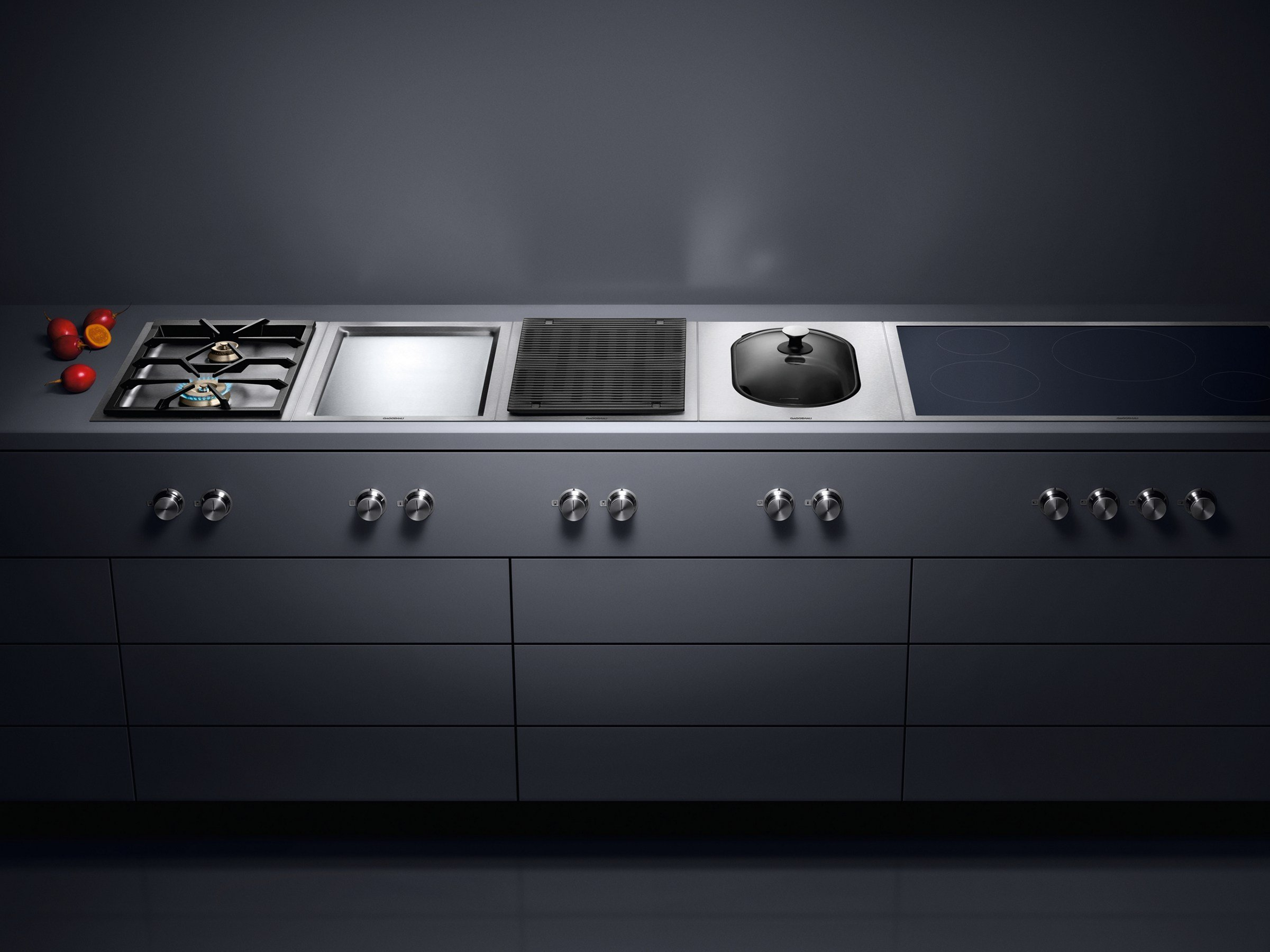 electric hob vr 414 vario 400 series by gaggenau. Black Bedroom Furniture Sets. Home Design Ideas