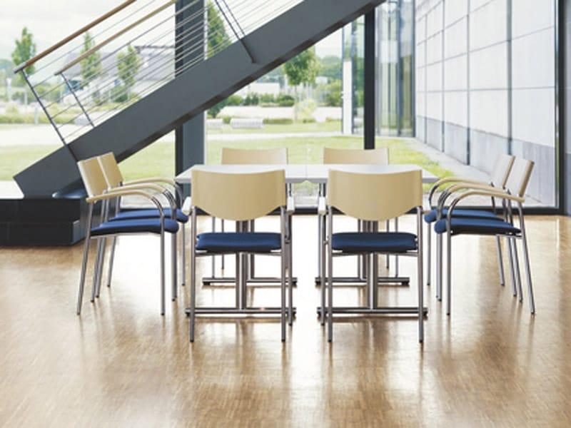 Jump stuhl mit armlehnen by brunner design lepper schmidt sommerlade designer - Architecture moderne residentielle schmidt lepper ...
