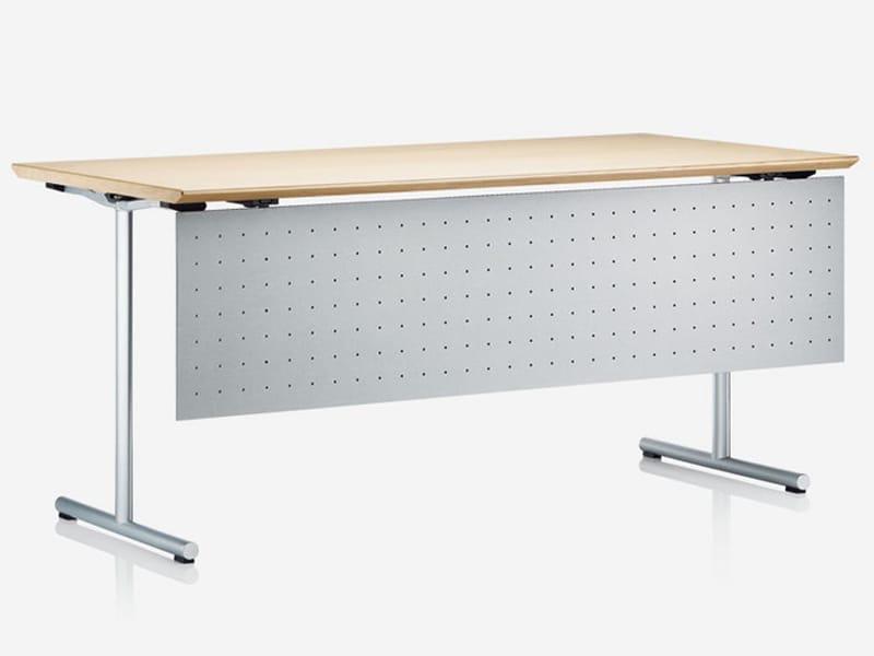 bureau pliant rectangulaire sleight by brunner design. Black Bedroom Furniture Sets. Home Design Ideas