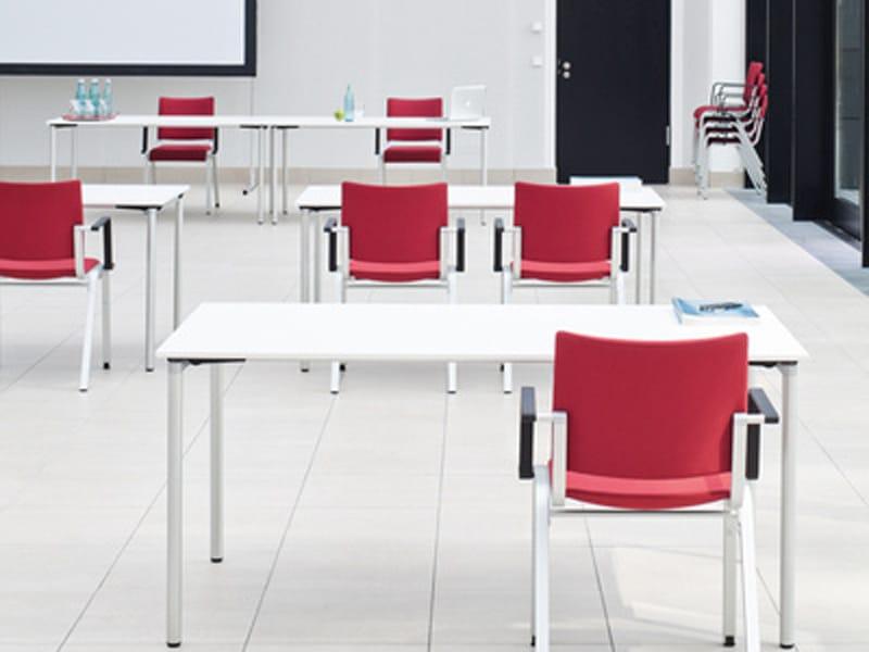 Mesa de reuni o dobr vel trust by brunner design lepper - Architecture moderne residentielle schmidt lepper ...